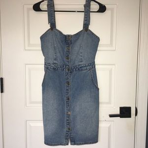 BILLABONG Denim bodycon dress